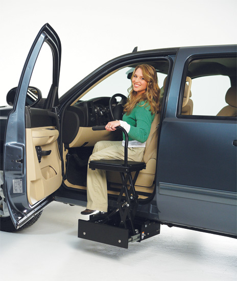 bruno stow away rh makelifeaccessible com Bruno Wheelchair Lifts for Trucks Bruno Wheelchair Lifts for Trucks