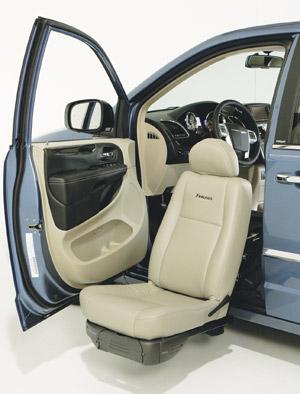 braunability turny evo seat by braun – automotive seats that rotate