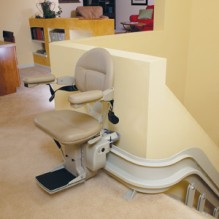 Bruno Elite Curved Indoor & Outdoor Stairlift