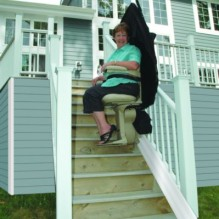 Bruno Elite Staight Outdoor Stairlift